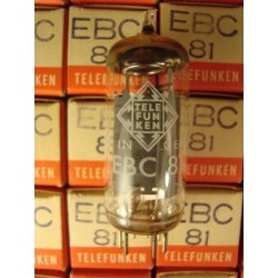 EBC81 / 6BD7  DIAMOND BASE